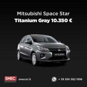 Mitsubishi Space Star Campagna Black Friday