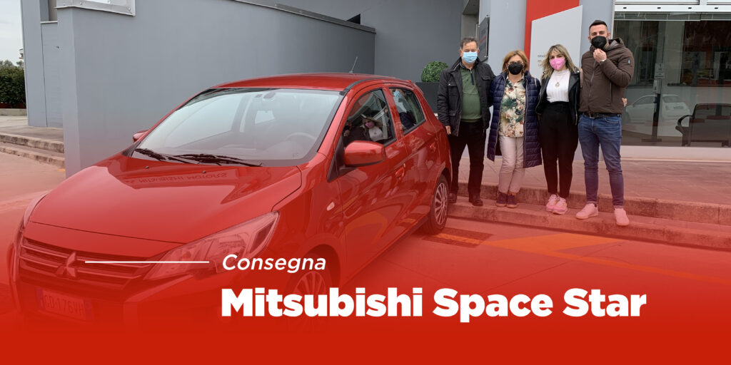 Consegna Mitsubishi Space Star Invite